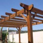 Trabajos con madera para jardín en Madrid